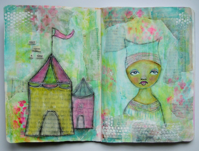 inarttherapy blog. Ayfer Yalincak wordpress reblogged.